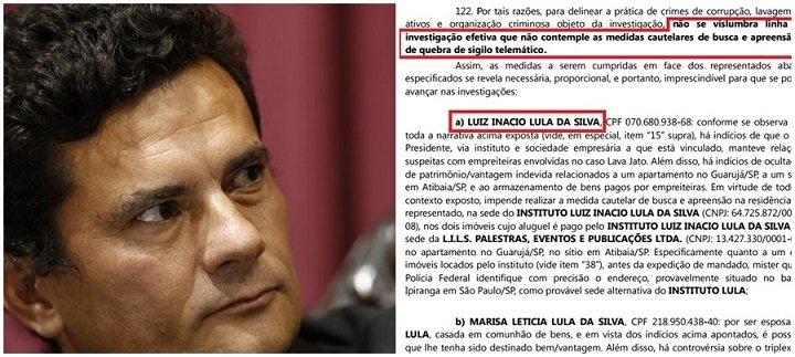 sergio moro coercitiva lula - POLÊMICA: Sérgio Moro mentiu ao afirmar que acolheu coercitiva de Lula a pedido do MPF ?