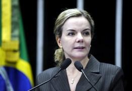 Gleisi Hoffmann afirmou que pessoas serão mortas antes que Lula seja preso