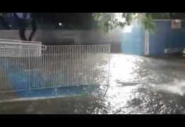 Chuvas: redes sociais são usadas pela população para mostrar transtornos na lagoa