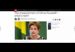 Votação do impeachment de Dilma repecurte na imprensa internacional