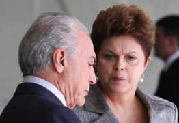 A MALA JÁ ESTÁ LÁ FORA: Dilma promove 'limpa' para Temer não lucrar nada quando assumir presidência