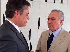 Em reunião com Temer, Cássio pede solução para a grave crise hídrica na Paraíba – VEJA VÍDEO