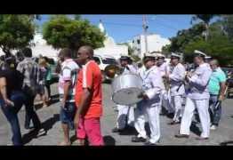 FREVO NO ENTERRO:  Músico Timbú é sepultado ao som de orquestra de frevo em Cajazeiras – VEJA VÍDEO