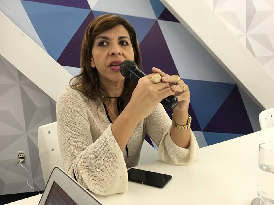 eliza virginia - Eliza Virgínia rejeita possibilidade de apoiar João Azevedo em nenhuma situação: 'Não!'