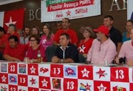 PATOS: PT apresenta pré-candidatos, proíbe alianças e tenta reunificação