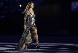 Após cerimônia de abertura, Gisele Bündchen faz declaração emocionada sobre povo brasileiro