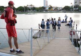 Mais segurança: Píer flutuante do Parque da Lagoa recebe proteção e é elogiado pela população