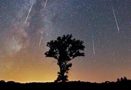 Na madrugada de sexta-feira será possível assistir a chuva de meteoros Perseidas no céu do Brasil