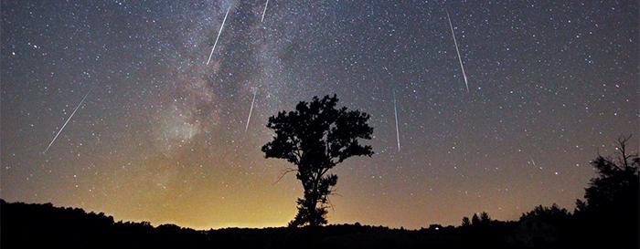 chuva de meteoros - Chuva de estrelas cadentes será vista em todo o Brasil nesta semana