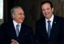 LABORATÓRIOS DENUNCIAM: Aguinaldo Ribeiro é citado por colunista como negociador de propinas no Gov. Temer