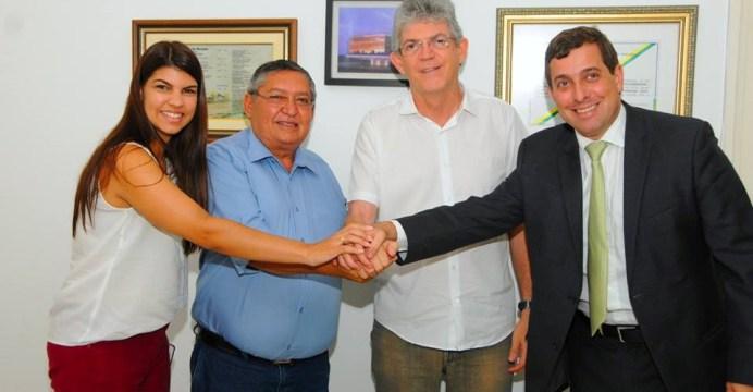alcantil - Mais um prefeito eleito pela oposição na PB troca de partido e se filia ao PSB