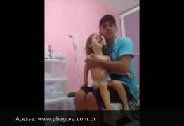 VEJA VÍDEO: Pai faz apelo dramático para manter filha viva, na Paraíba