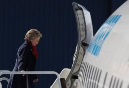 ELEIÇÃO NO EUA: 'Turbulências' no avião de campanha de Hillary