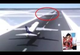 Piloto evita colisão entre aviões em aeroporto chinês;VEJA VÍDEO