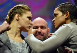 Campeã, brasileira Amanda Nunes reclama do destaque dado a Ronda
