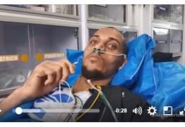 VEJA VÍDEO: Zagueiro Neto grava mensagem de agradecimento durante retorno ao Brasil