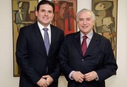 Hugo Motta se reúne com Michel Temer e cobra ações na Paraíba