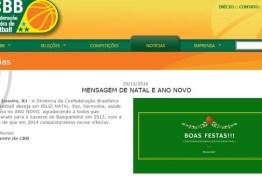 CBB comete gafe em site oficial e deseja Feliz 2014 aos internautas