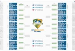 Foram definidos os adversários do Botafogo e do Campinense na Copa do Brasil