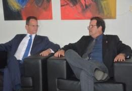Mesa Diretora da Câmara de JP e TCE fecham parceria para transmitir programa de TV