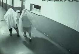 """VEJA VÍDEO: """"Fantasmas"""" furtam computador e impressora de Prefeitura"""