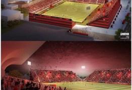 Flamengo quer construir estádio com arquibancadas a 6m do campo