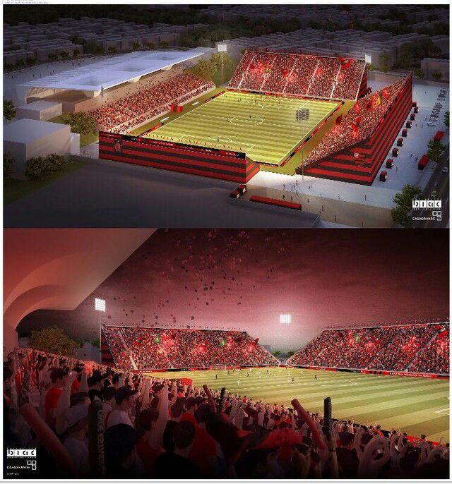 b6f918e8 e1f4 4021 93e3 2ad1b2776a7e - Flamengo quer construir estádio com arquibancadas a 6m do campo