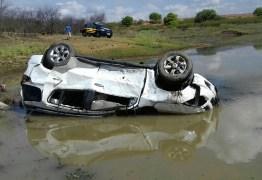 Empresário sertanejo sofre grave acidente na BR-230