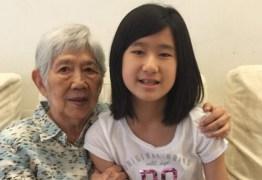 VEJA VÍDEO – Adolescente de 12 anos cria aplicativo para ajudar a avó com Alzheimer