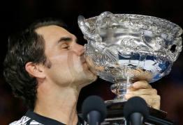 Roger Federer volta a vencer final de Grand Slam após cinco anos