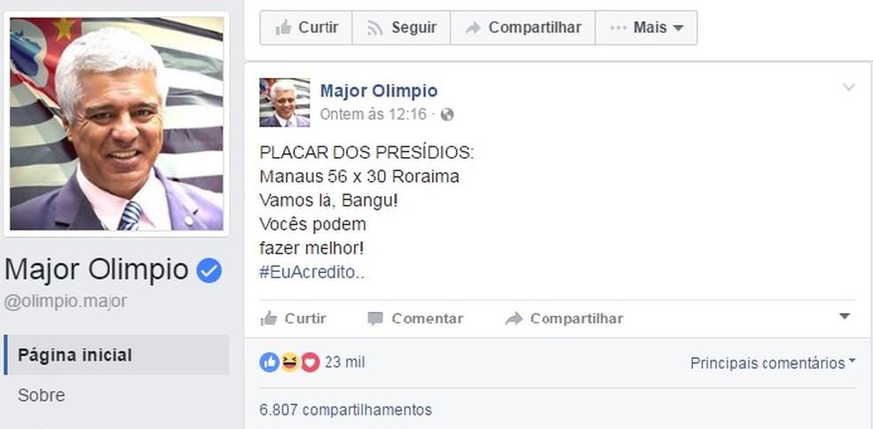 major-olimpio