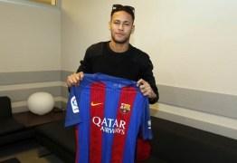VEJA VÍDEO: camisa do Barça enviada para a Chape tem dedicatória especial de Neymar