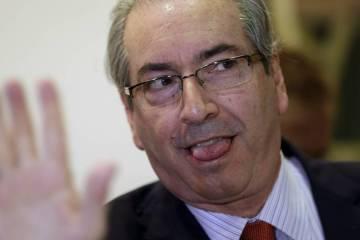 DE MUDANÇA: Eduardo Cunha é transferido para o Rio de Janeiro