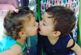 Luana Piovani posta foto dos filhos se beijando e recebe criticas de internautas
