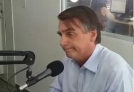 Jair Bolsonaro fala à PB e diz que presidente tem que dar exemplo: 'No Palácio vai ter arroz, feijão e ovo'