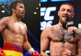 Bob Arum apóia luta entre Manny Pacquiao e Conor McGregor