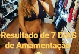 Rafaela Brites comemora corpo em forma após gravidez e atribui à amamentação