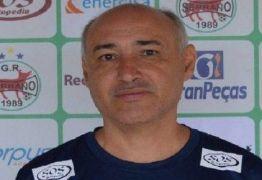 DEGOLA: Números ruins no Campeonato Paraibano fazem mais um técnico perder o emprego
