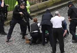 Liberada imagens do ataque terrorista em frente Parlamento britânico que deixou deixa 5 mortos e feridos – VEJA VÍDEOS