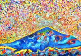 Artista plástico, Amauri Flor tem suas obras expostas na galeria de artes Energisa