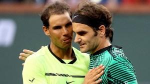 roger federer rafael nadal 300x169 - Federer vence Nadal e passa de fase em Indian Wells