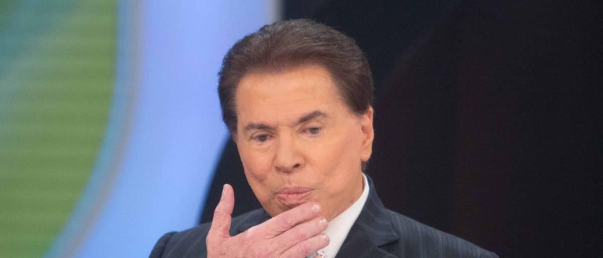 silvio santos 1 - Silvio Santos roga praga a Luciana Gimenez após fim de casamento