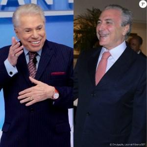 silvio santos cabelos brancos 300x300 - Silvio Santos brinca com cabelo branco: estou usando a tinta do Temer