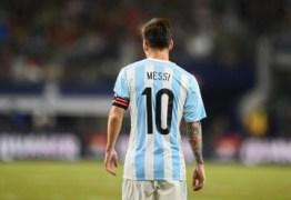ULTIMA CHANCE: Messi pode se aposentar da seleção após Copa da Rússia