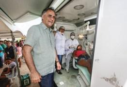 Luciano acompanha serviços de saúde em comunidade de João Pessoa