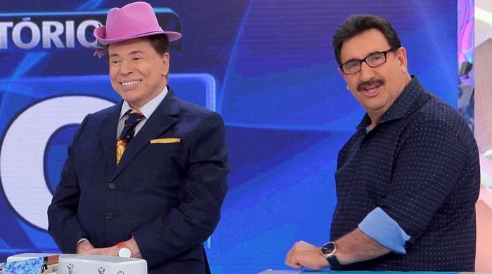 Silvio e Ratinho - Ratinho encabeça lista de possíveis sucessores de Silvio Santos no SBT