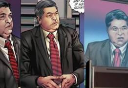 Datena aparece em história em quadrinhos da DC Comics