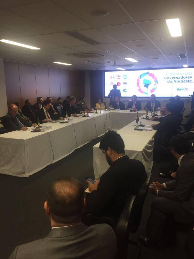 18426710 1434542393268589 1392268311 o - RC participa de encontro dos governadores do Nordeste na Bahia