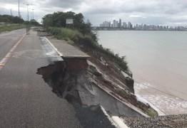 Ladeira da barreira do Cabo Branco vai ser interditada, diz prefeitura de João Pessoa