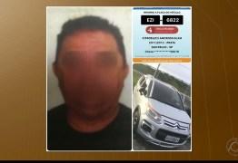 Policial militar é preso com carro roubado e placas frias em João Pessoa, diz polícia